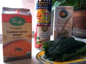Cashew Soup Ingredients